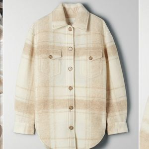 Wilfred free ARITZIA plaid ganna jacket